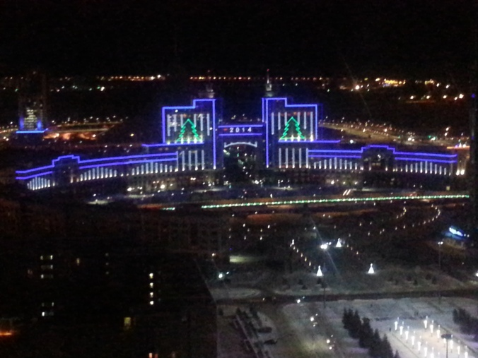 The wintry curtain rises for 2014 in Astana.